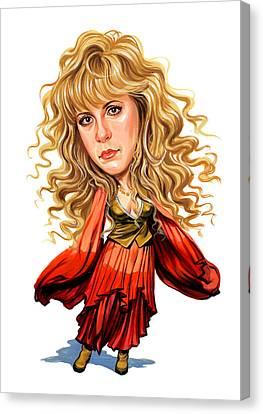 Stevie Nicks Canvas Print by Art