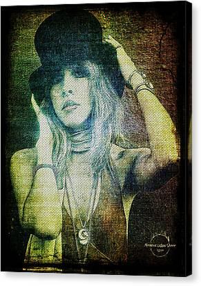 Stevie Nicks - Bohemian Canvas Print by Absinthe Art By Michelle LeAnn Scott