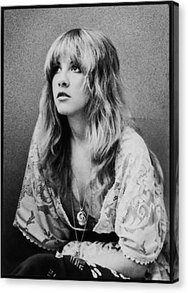 Stevie Nicks Canvas Print by Nomad Art