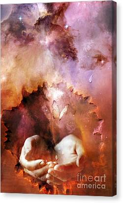 Still Connected Canvas Print by Jacky Gerritsen