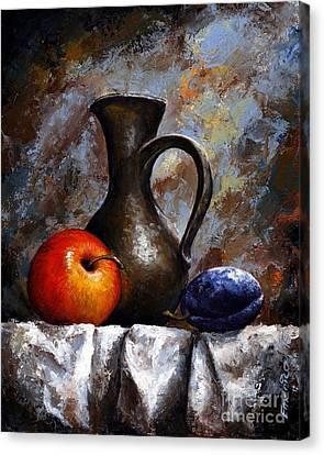 Still Life 13 Canvas Print by Emerico Imre Toth