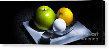Still Life Eclectic 2 Canvas Print by Cecil Fuselier