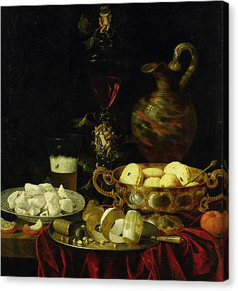 Still Life Canvas Print by Johann Georg Hinz