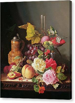 Still Life  Canvas Print by Edward Ladell