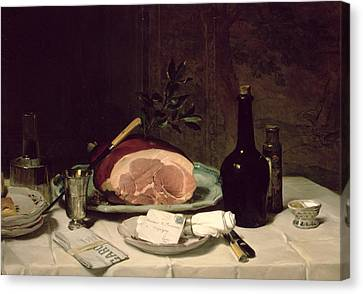 Still Life Canvas Print by Philippe Rousseau