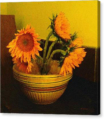 Still Life September Canvas Print by RC deWinter