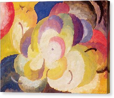 Still Life With Apples Canvas Print by Alexander Bogomazov