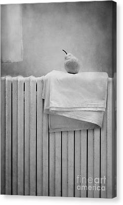 Still Life With Pear Canvas Print by Diana Kraleva