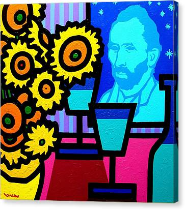 Still Life With Vincent Canvas Print by John  Nolan