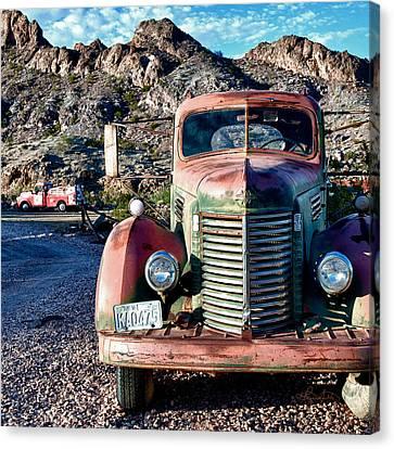 Still Truckin' Canvas Print by Renee Sullivan