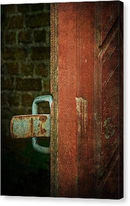 Still Waiting At Your Gate Canvas Print by Odd Jeppesen