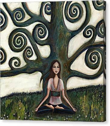 Stillness Canvas Print by Denise Daffara