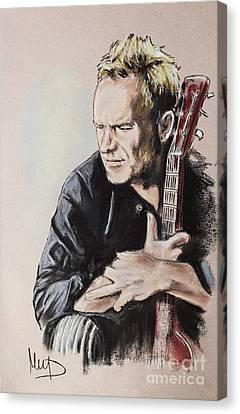 Sting Canvas Print by Melanie D