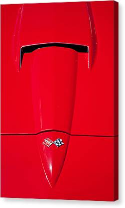 Sting Ray Hood Canvas Print by Peter Tellone