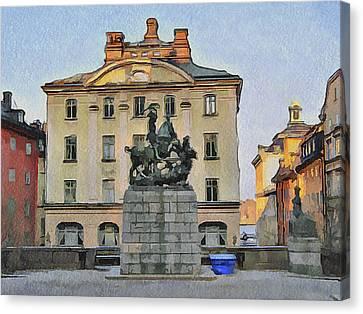Stockholm 6 Canvas Print by Yury Malkov
