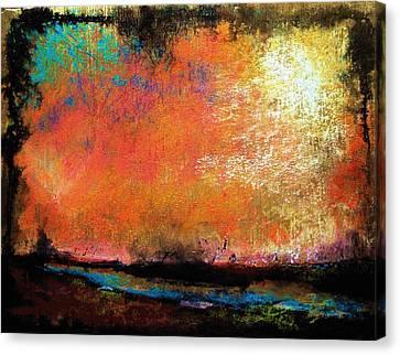 Stone Harbor Sky  Canvas Print by Peter R Davidson