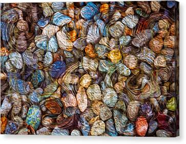 Stoned Stones Canvas Print by Omaste Witkowski