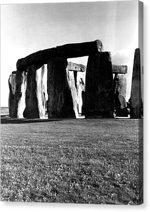 Stonehenge View Canvas Print by Retro Images Archive