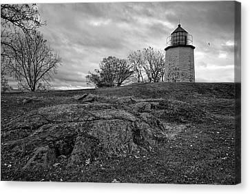 Stony Point Lighthouse Canvas Print by Joan Carroll