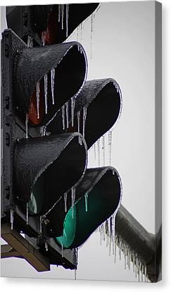 Stop Go Canvas Print by Off The Beaten Path Photography - Andrew Alexander