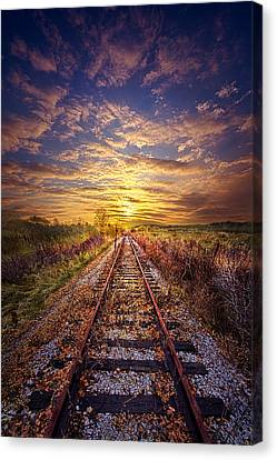 Stories To Be Told Canvas Print by Phil Koch