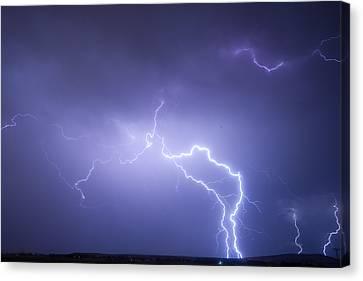 Storm Chase Six Twenty Eight Thirteen Canvas Print by James BO  Insogna