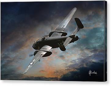 Storm Clouds Ahead Canvas Print by Craig Purdie