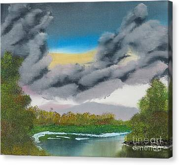 Storm Clouds Canvas Print by Dave Atkins