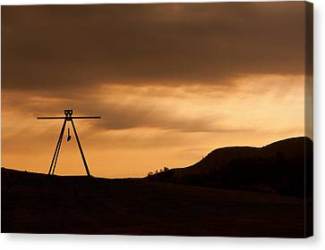Storm King Canvas Print by Terry Cosgrave