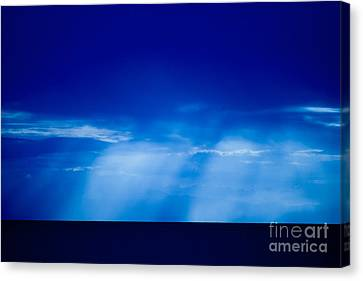 Storm Over Camotes Canvas Print by Hank Taylor