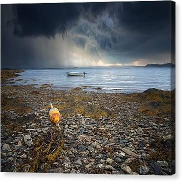 Storm Rolls In Canvas Print by Darylann Leonard Photography