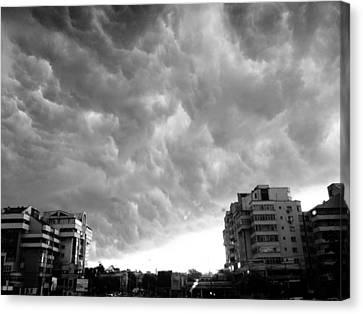 Storm Canvas Print by Silvia Puiu