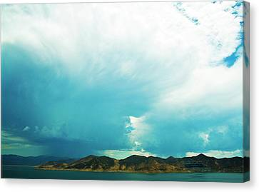 Storm Canvas Print by Terry Thomas