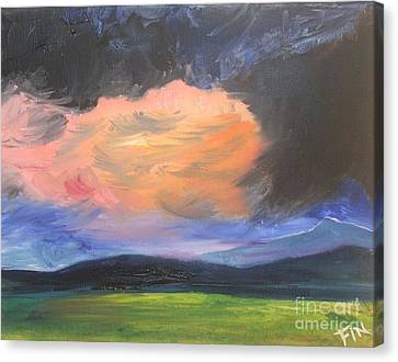 Stormchaser Canvas Print by PainterArtist FIN