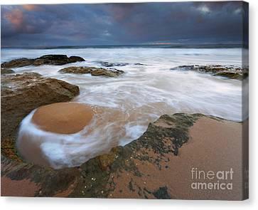 Stormrise Whirlpool Canvas Print by Mike Dawson