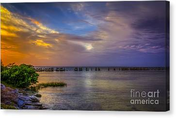 Storms Rolling In Canvas Print by Marvin Spates