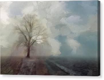 Stormy Day Canvas Print by Steve K