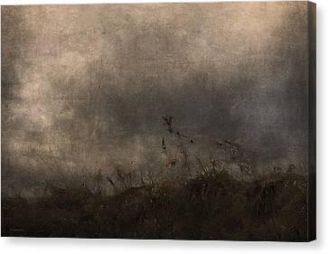 Stormy Mondays Canvas Print by Ron Jones