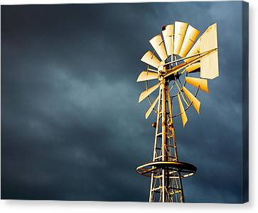 Stormy Skies Canvas Print by Todd Klassy