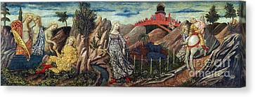 Story Of Oenone And Paris 1460 Canvas Print by Getty Research Institute