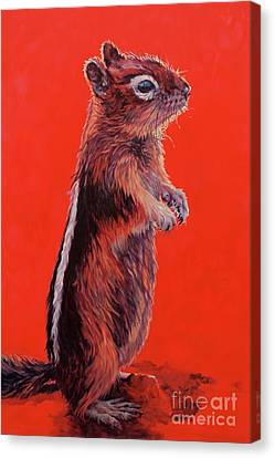 Storyteller Canvas Print by Patricia A Griffin