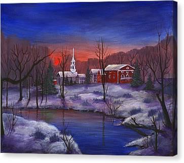 Stowe - Vermont Canvas Print by Anastasiya Malakhova