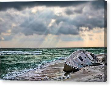Stranded In Paradise  Canvas Print by JC Findley