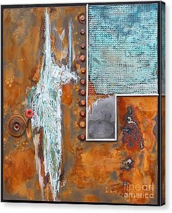 Stratospheare Canvas Print by Gertrude Scheffler