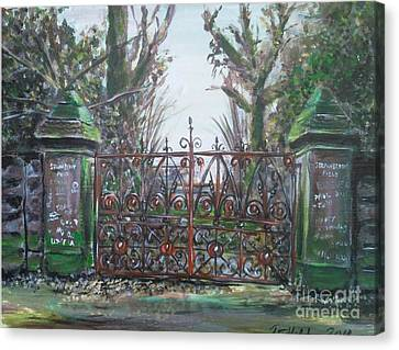 Strawberry Fields Forever Canvas Print by Richard John Holden RA