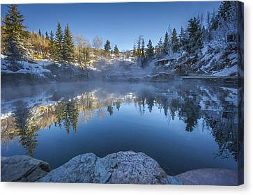 Strawberry Hot Springs Canvas Print by Chelsea Stockton