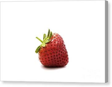 Strawberry II Canvas Print by Natalie Kinnear