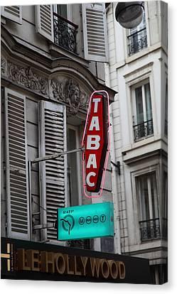 Street Scenes - Paris France - 011340 Canvas Print by DC Photographer