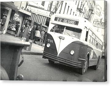 Streetcar Named Desire Canvas Print by Cynthia Decker
