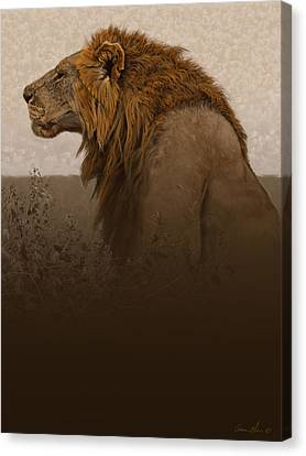 Strength Canvas Print by Aaron Blaise